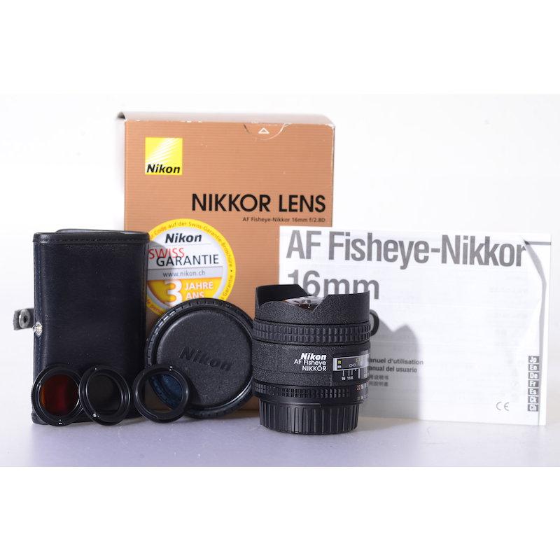 Nikon AF 2,8/16 D Fisheye