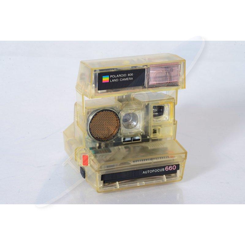 Polaroid 660AF Transparent