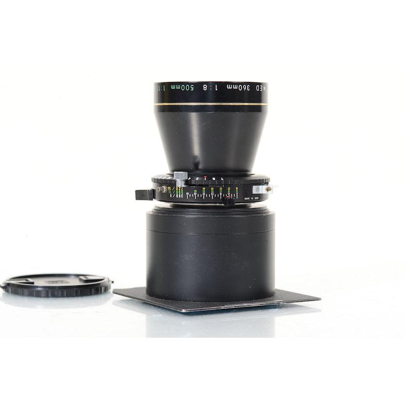 Nikon Nikkor-T 11,0/500 ED Copal 1 mit Linhof Objektivplatte 96x99
