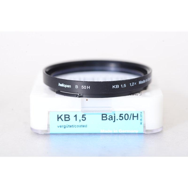 Heliopan Korrektur Blau KB-1,5 B-50