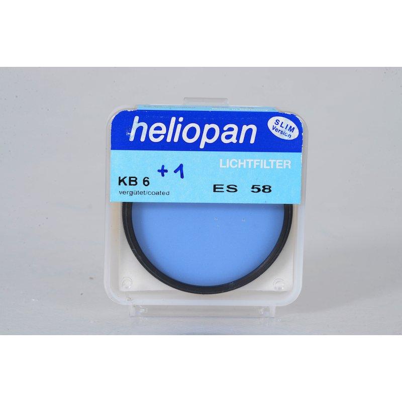 Heliopan Korrektur Blau KB-6 E-58
