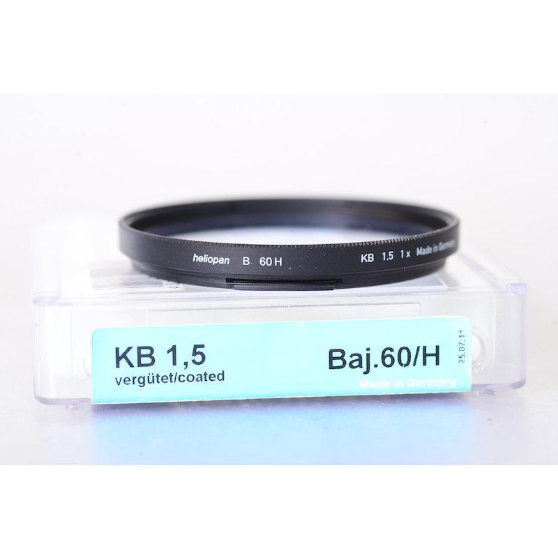 Heliopan Korrektur Blau KB-1,5 B-60