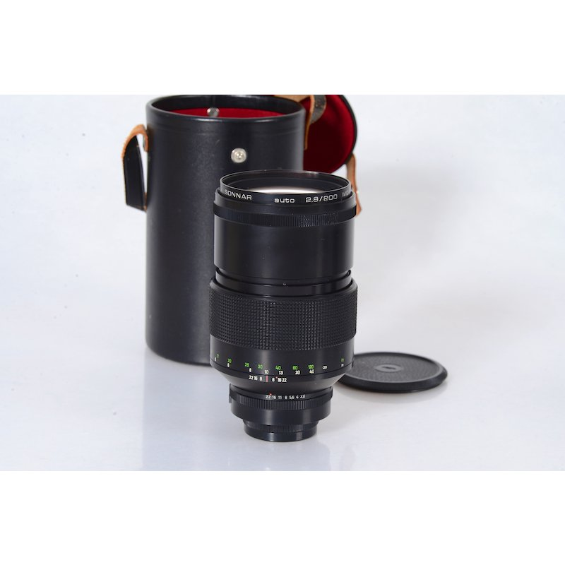 Zeiss-Jena Sonnar MC 2,8/200 Elec. M42