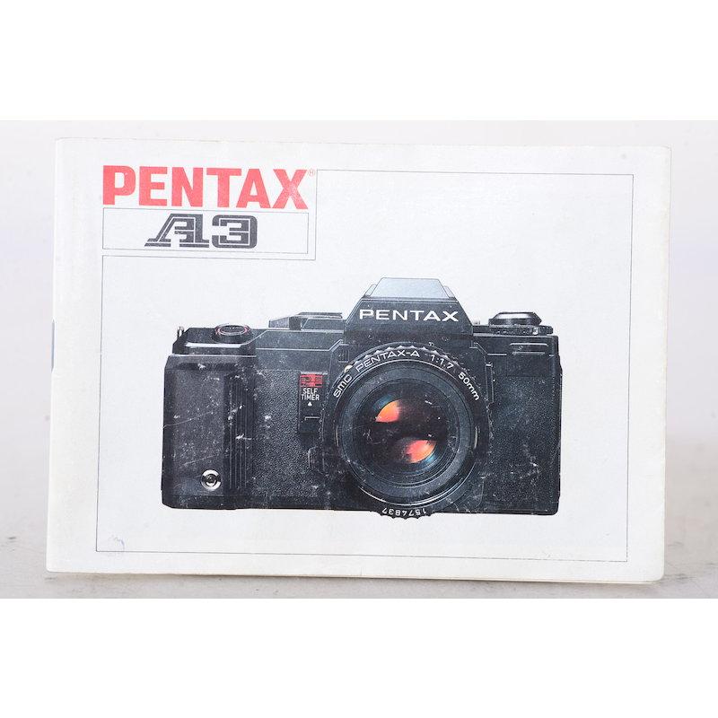 Pentax Anleitung A-3