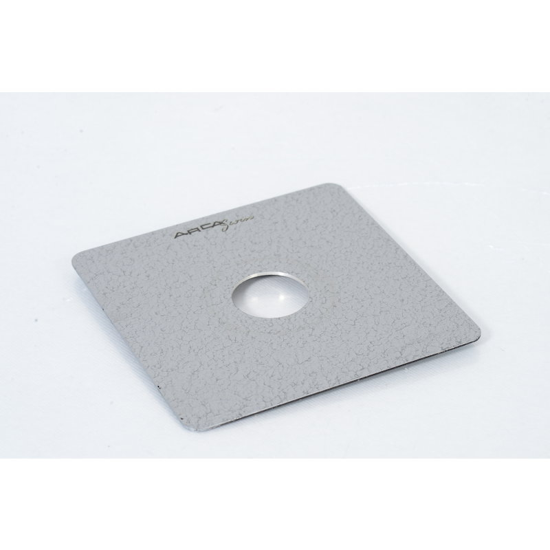 Arca-Swiss Objektivplatte Flach Copal 1 4x5 Silber