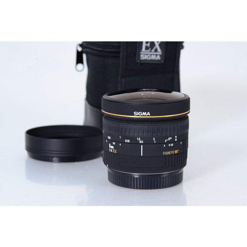 Sigma EX 4,0/8 Fisheye C/EF