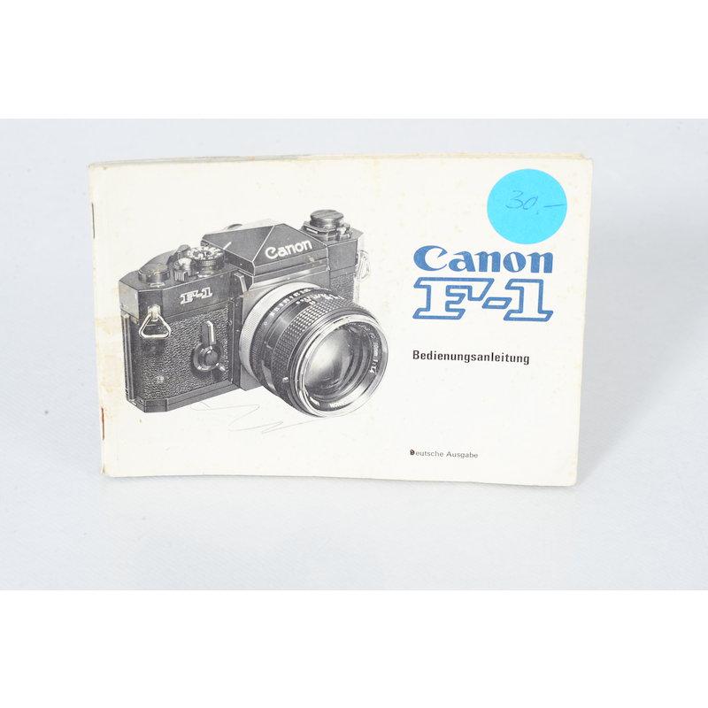 Canon Anleitung F-1