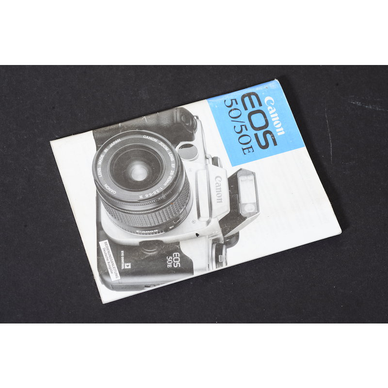 Canon Anleitung EOS 50/50E