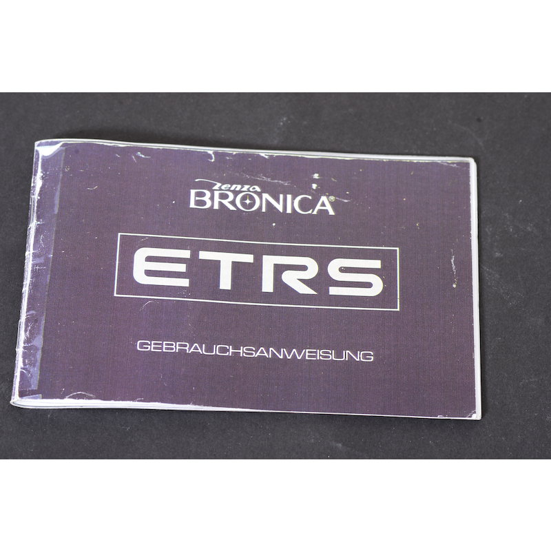 Bronica Anleitung ETRS