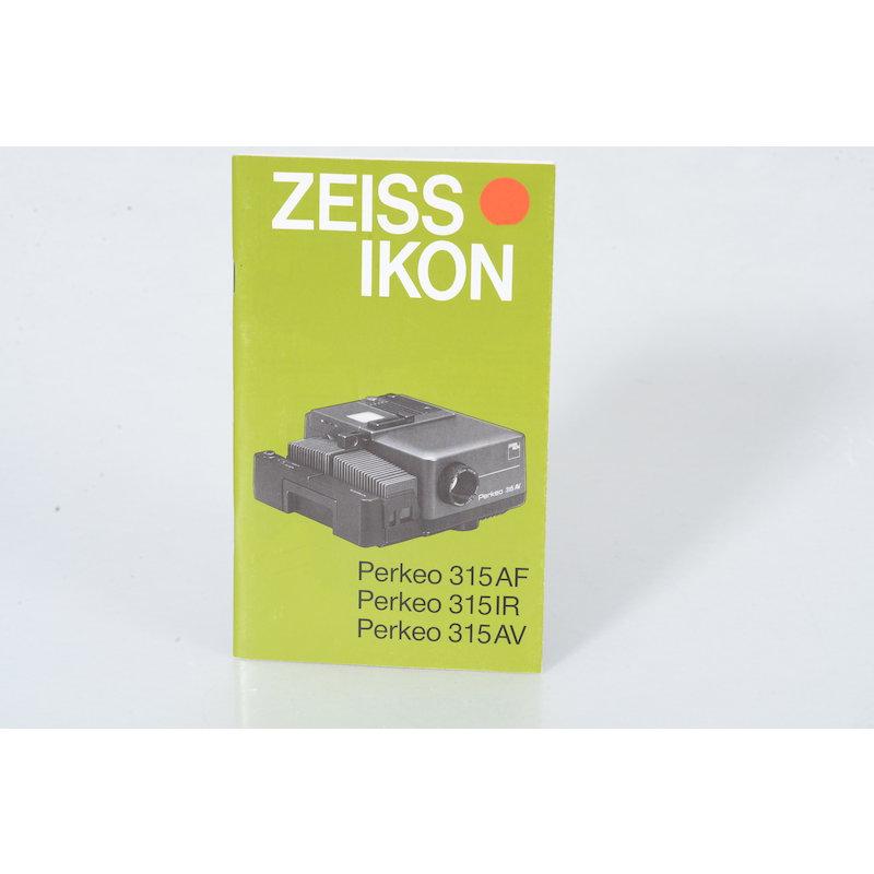 Zeiss-Ikon Anleitung Perkeo
