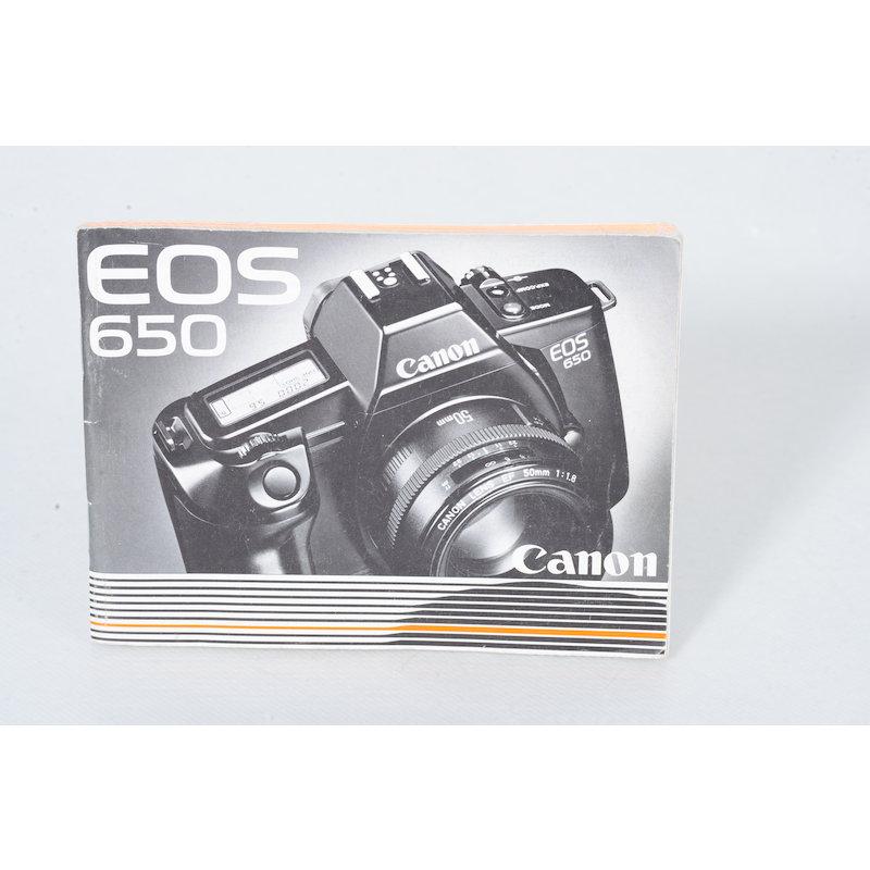 Canon Anleitung EOS 650