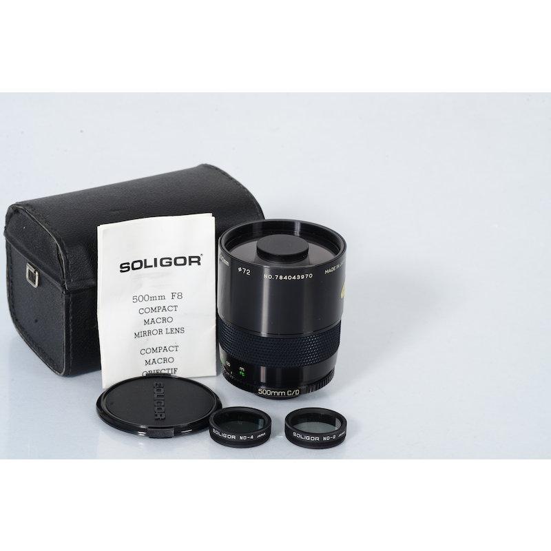 Soligor 8,0/500 Spiegel Makro T2