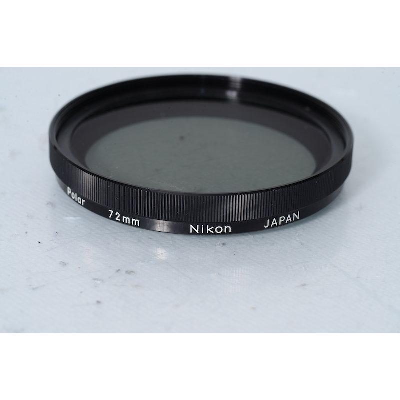 Nikon Polfilter Linear E-72 Putzspuren Filterglas