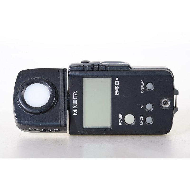Minolta Color-Meter IIIF