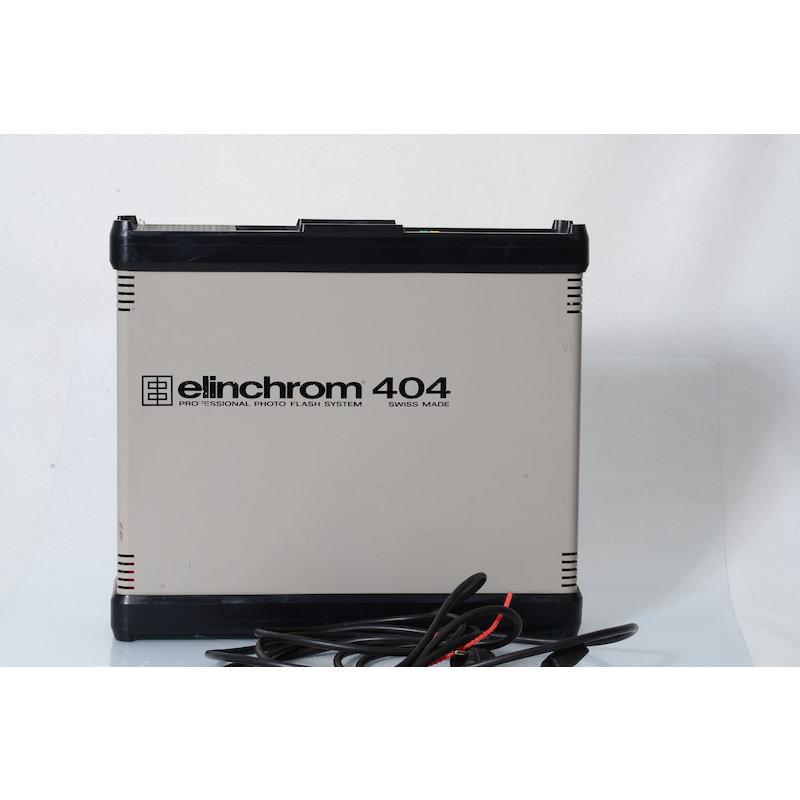 Elinchrom Generator 404 Einstellicht Flackert