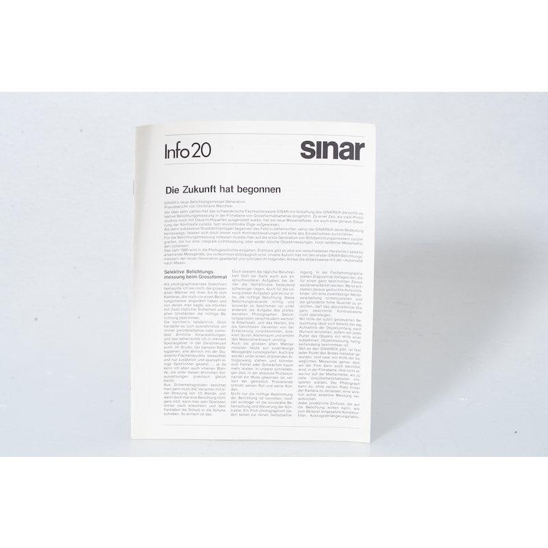 Sinar Info 20 Die Zukunft hat begonnen
