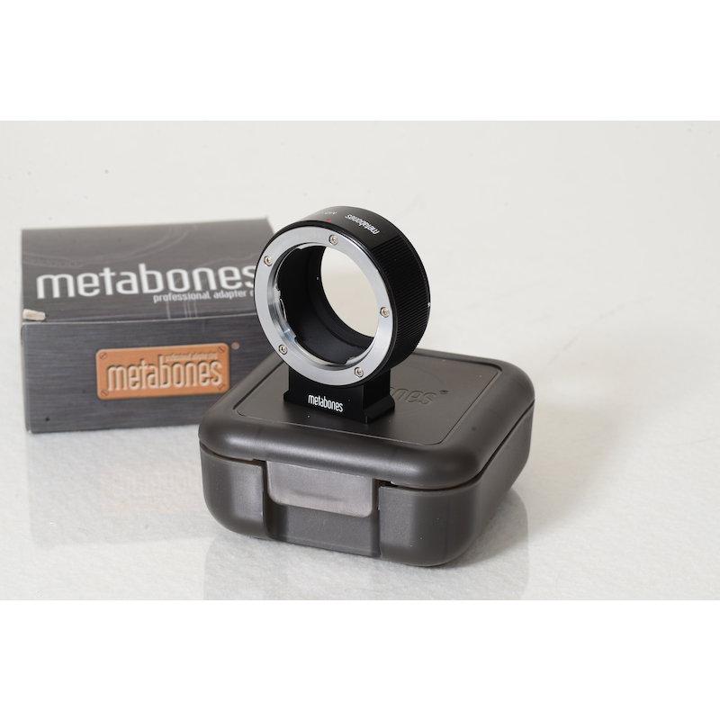 Metabones Minolta MD Objektivadapter Sony Nex