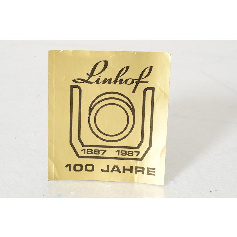 Linhof Aufkleber 1887 - 1987 100 Jahre