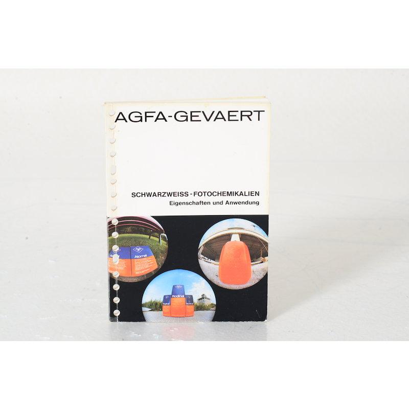 Agfa Produktbroschüre S/W Fotochemikalien
