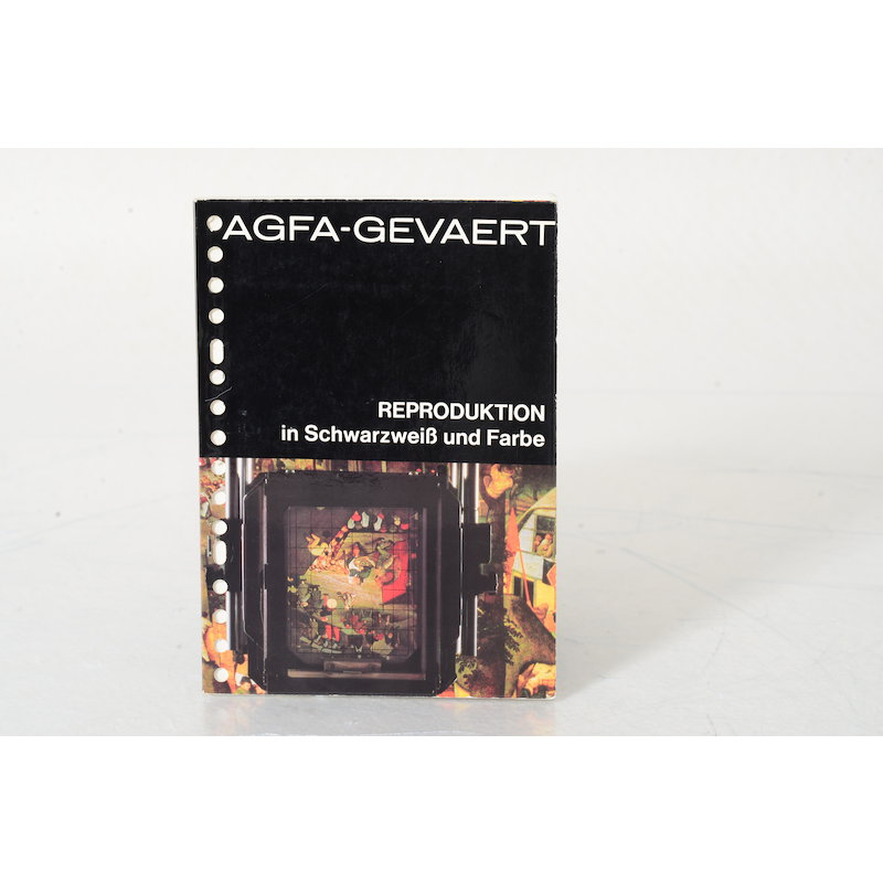 Agfa Produktbroschüre Reproduktion in S/W & Farbe