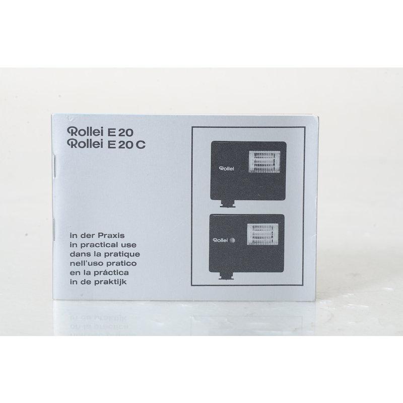 Rollei Anleitung E 20/E20 C In der Praxis