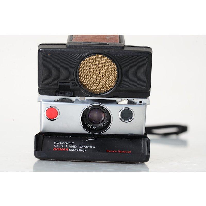 polaroid sx 70 sonnar braun kamera ebay. Black Bedroom Furniture Sets. Home Design Ideas