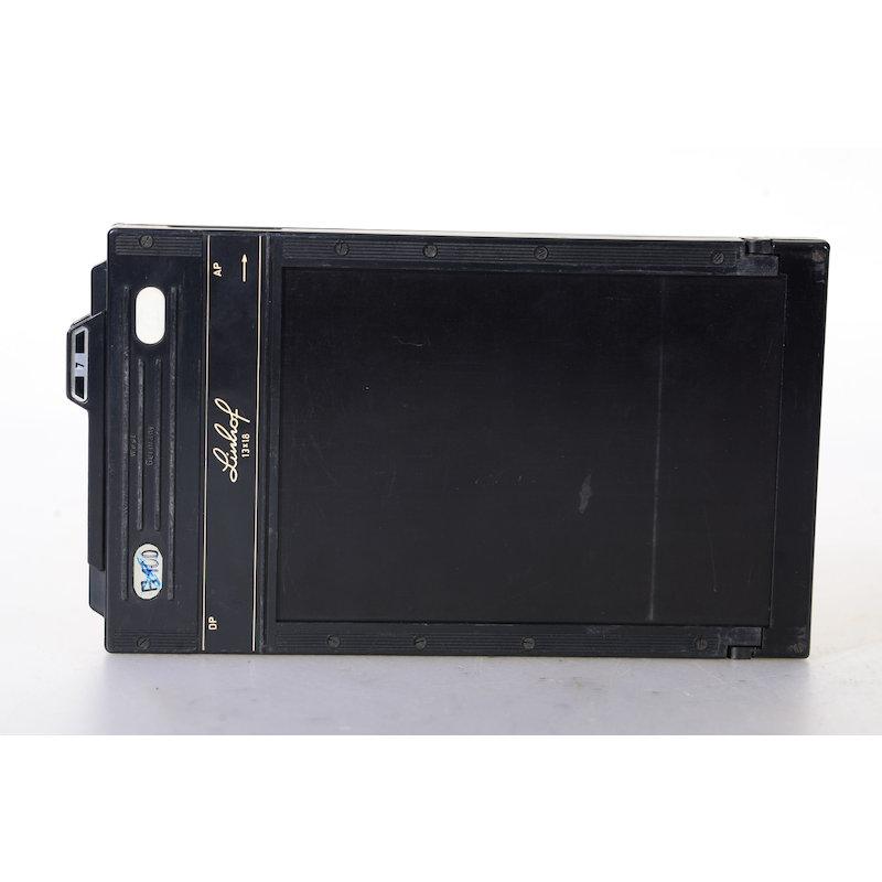 Linhof Doppelplanfilmkassette+Auswerfer 13x18