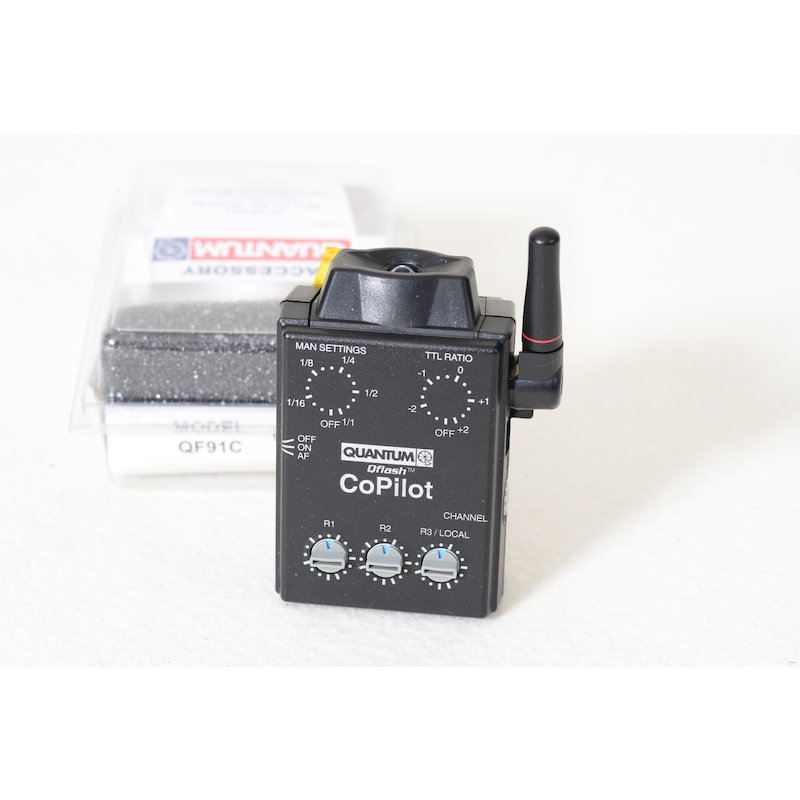 Quantum Wireless Radio Commander Canon f. QFlash QF91C