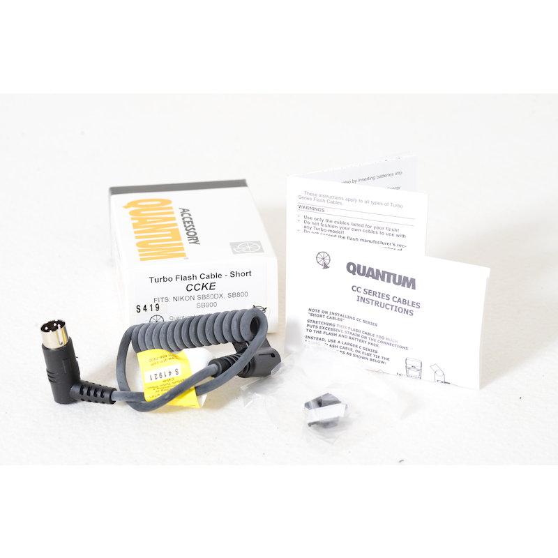 Quantum Turbo Kabel CCKE Nikon SB-800/SB-900/SB-910