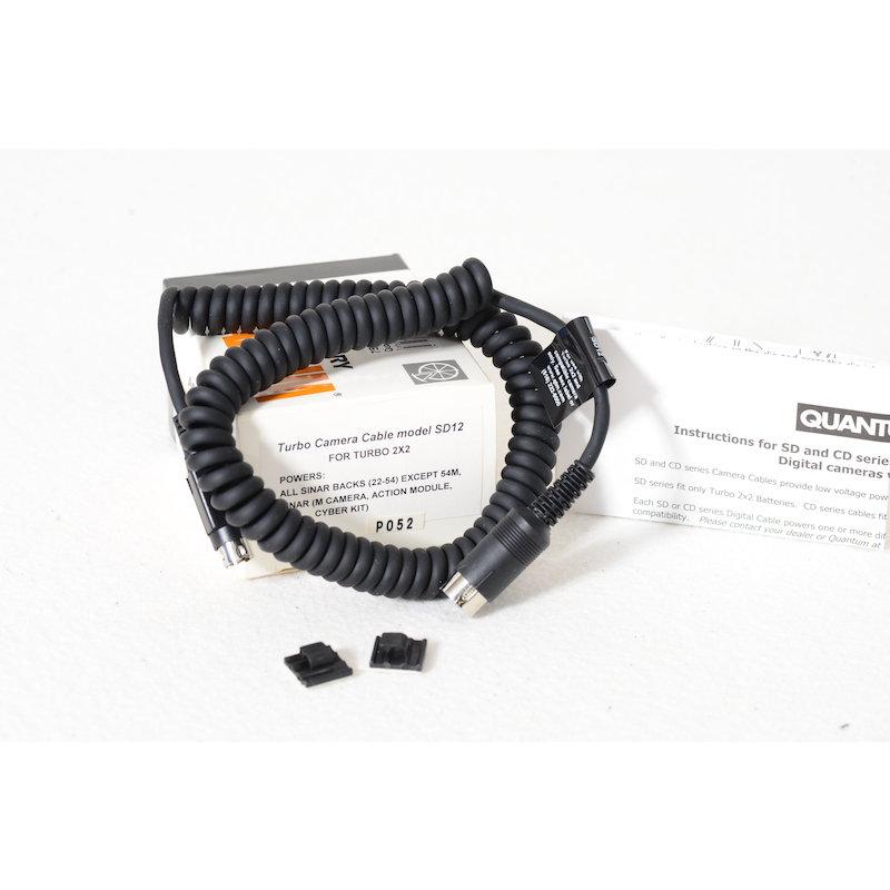 Quantum Turbo Kabel SD12 f. Turbo 2X2 Sinar Backs