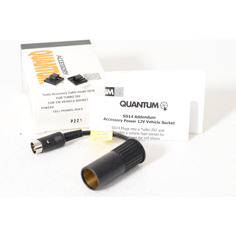 Quantum Turbo Kabel SD14 f. Turbo 2X2 KFZ Adapter