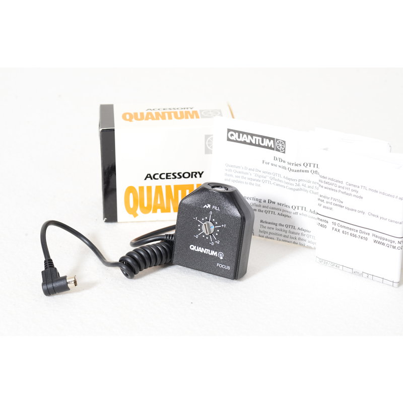 Quantum QTTL-Adapter D25 Mamiya 645AF