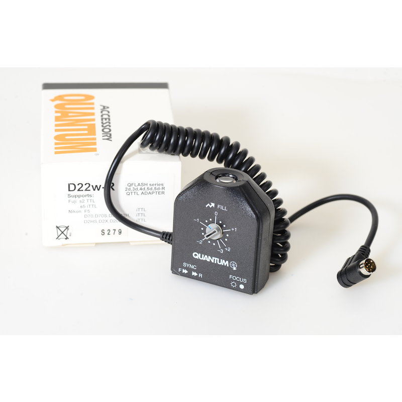 Quantum QTTL-Adapter D22WR Nikon TTL