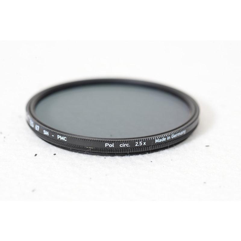 Heliopan Polfilter Zirkular SH-PMC Slim E-67