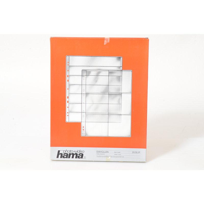 Hama Diahüllen Klar/Matt 7x7/6 25 St.