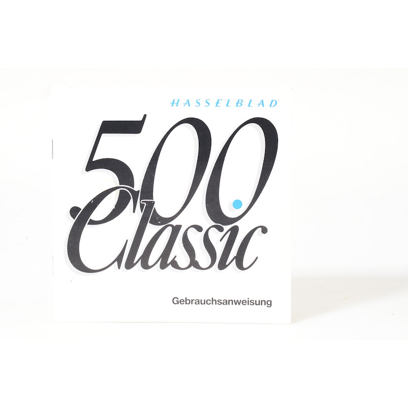Hasselblad Anleitung 500 Classic