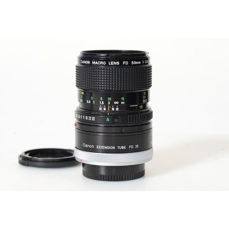 Canon FD 3,5/50 Makro+1:1 Ring