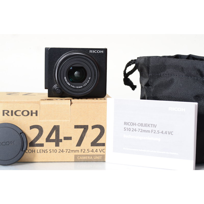 Ricoh S10 2,5-4,4/24-72 VC GX