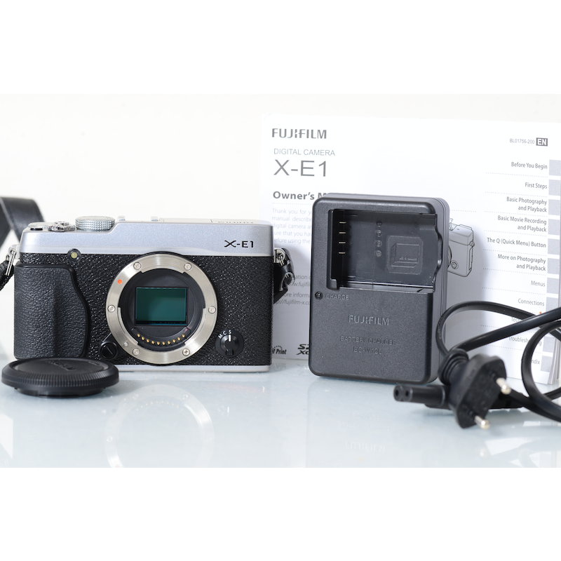 Fujifilm X-E1 Silber