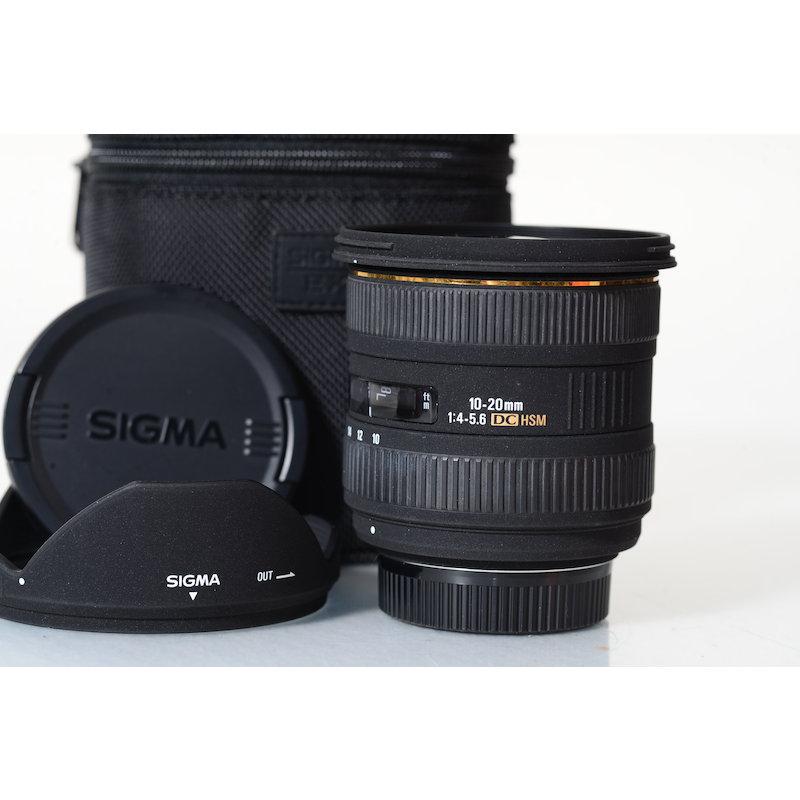 Sigma EX 4,0-5,6/10-20 DC HSM NI/AF D