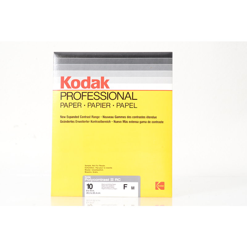 Kodak Polycontrast III RC Medium 20x25/10