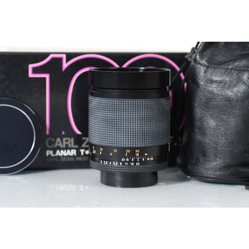 Contax Planar 2,0/100 T* Germany