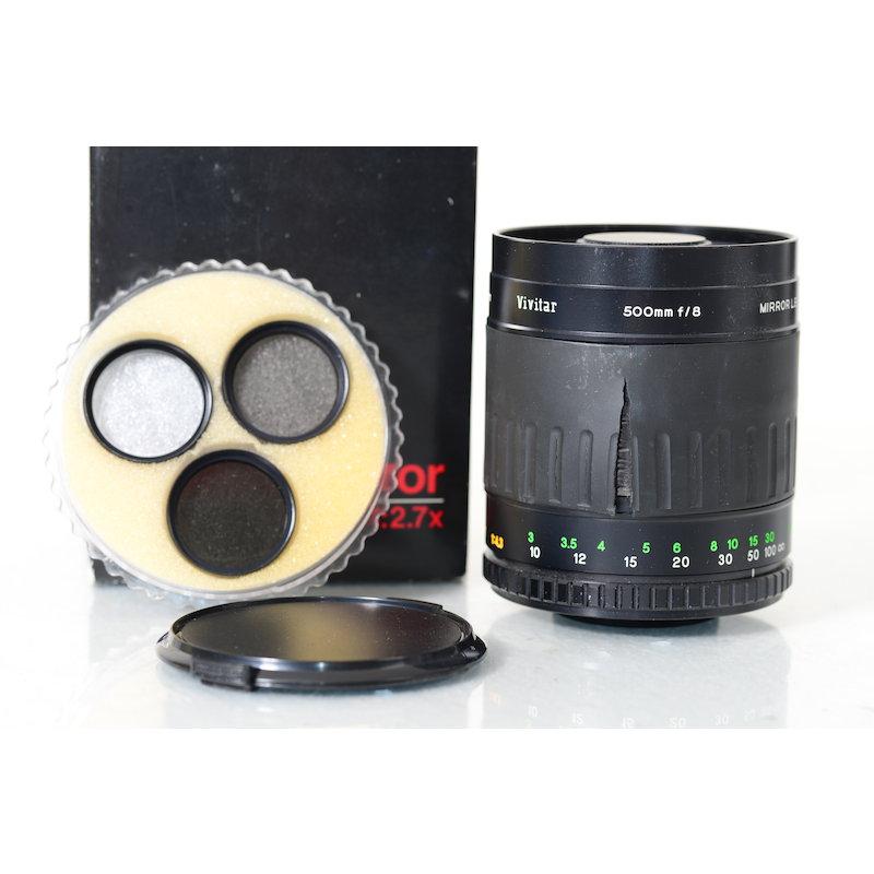 Vivitar 8,0/500 Spiegel Makro T2