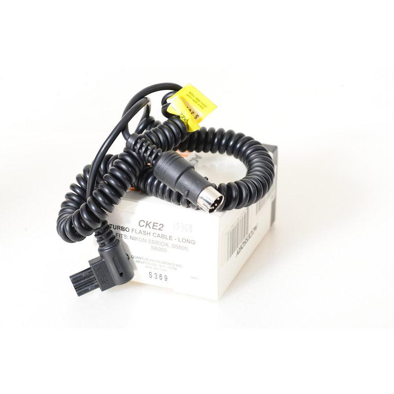 Quantum Turbo Kabel CKE2 Nikon SB-28/SB-800/SB-900