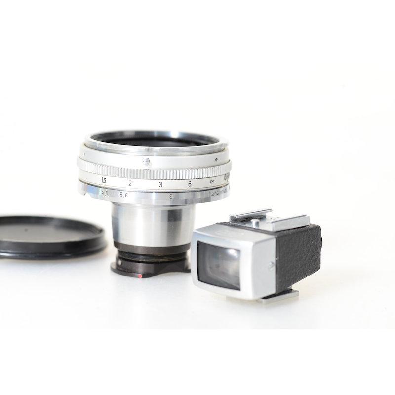 Zeiss-Ikon Biogon 4,5/21 Contarex+Sucher