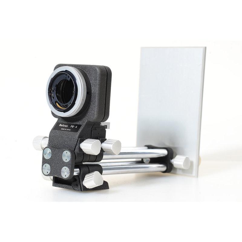 Nikon Shift-Balgengerät PB-4 (Umbau Canon FD)