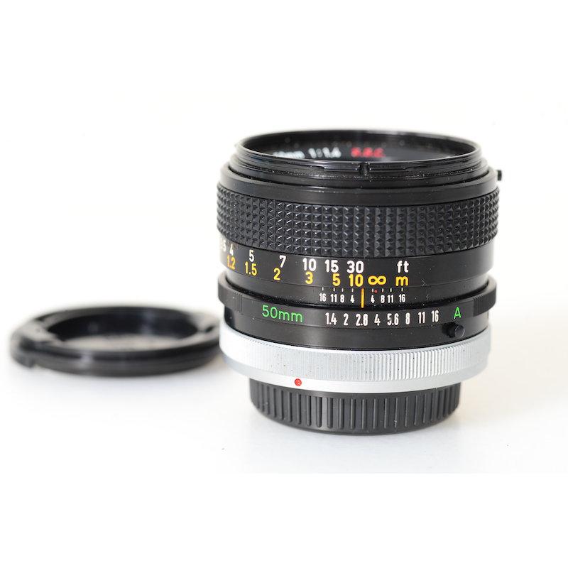Canon FD 1,4/50 S.S.C.