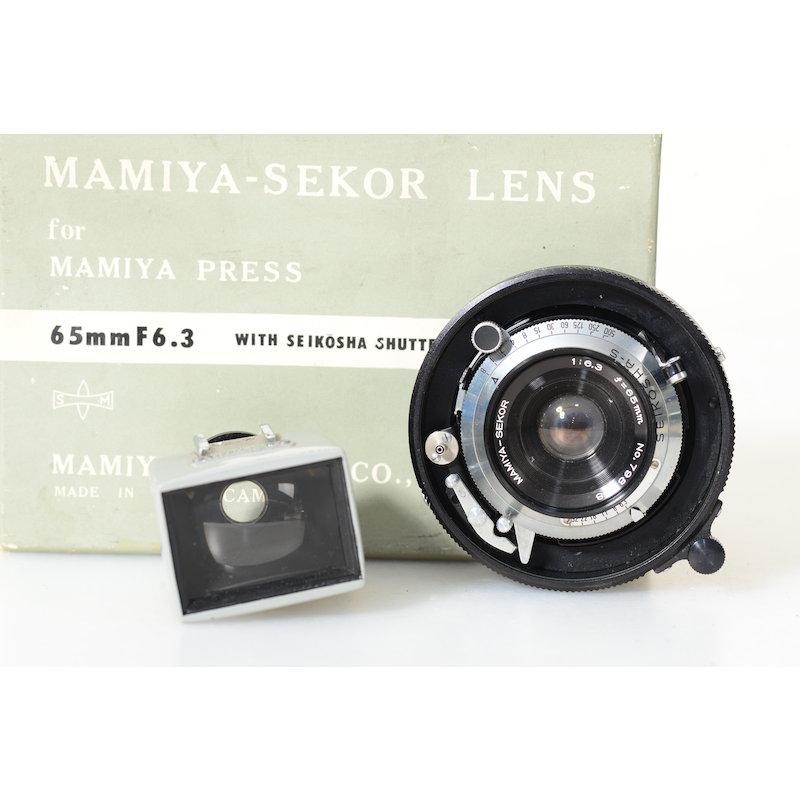 Mamiya Sekor 6,3/65 6x9+Sucher