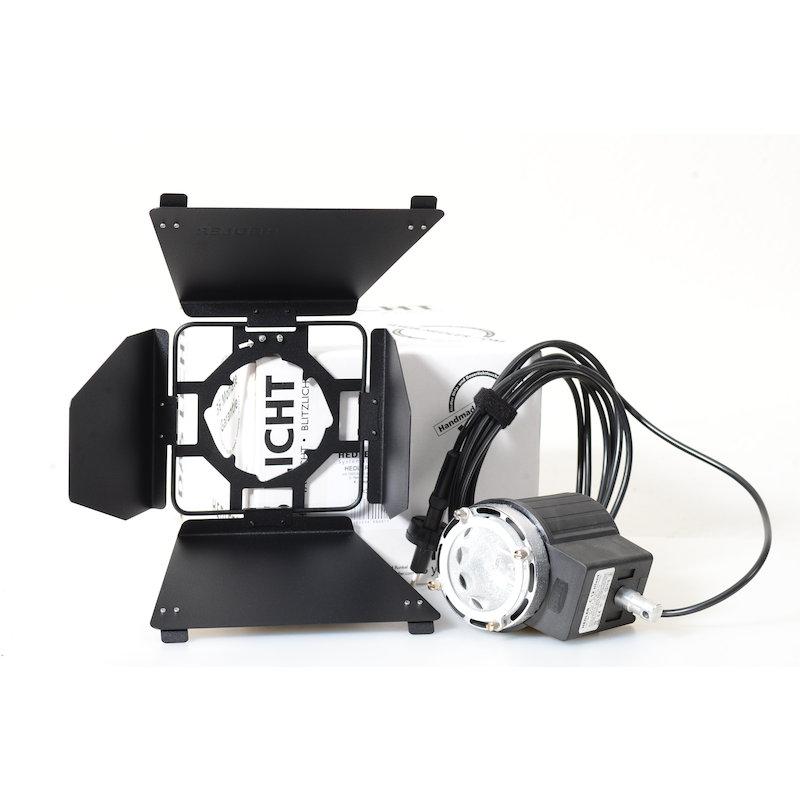 Hedler Silent Video Leuchte C-12 1000W+Vierflügeltor