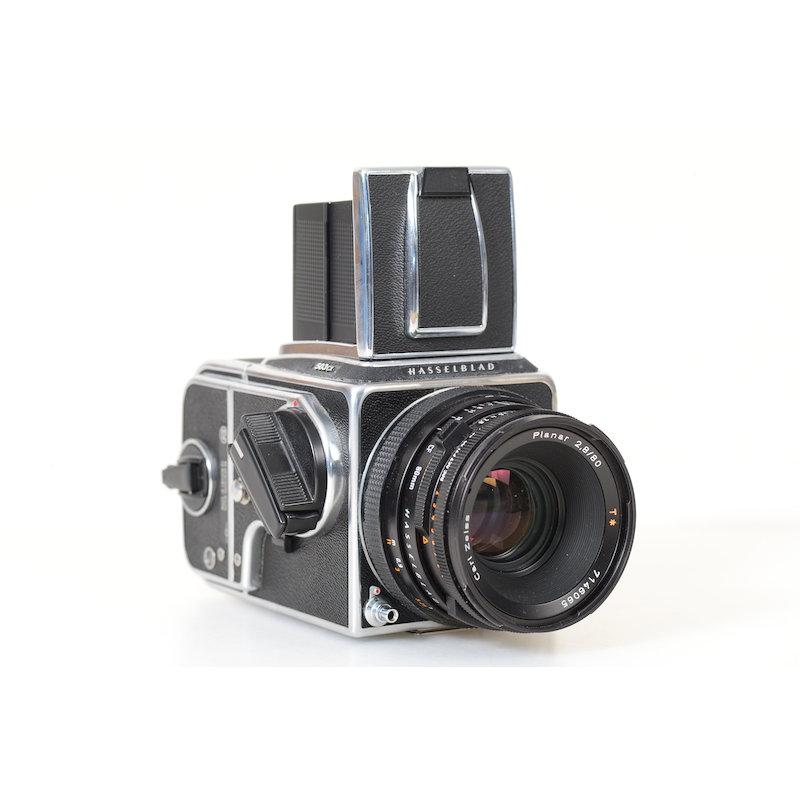 Hasselblad 503 CX+Planar CF 2,8/80 T*+Magazin A-12 Black